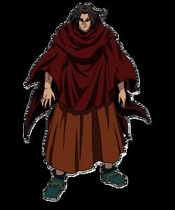 Hou Ken Character Design anime S1