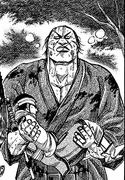 Den Yuu carrying Kyou Kai