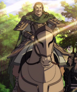 Tou's War Horse anime portrait