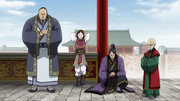 Four Heavenly Kings anime portrait