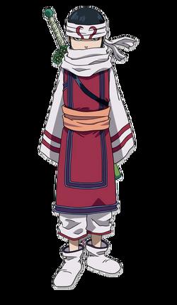 Kyou Kai Character Design anime S1