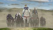 Ri Boku, Kaine And Kou Son Ryuu Advance To Kanyou anime S2