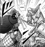 Ban Riku Cuts down Ei Sei
