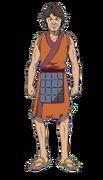 Bi Hei Character Design anime S1