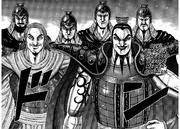 O Ki and his commanders