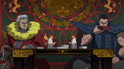 Ou Ki And Ren Pa Drink Liquor anime S2