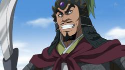 Kan Ei anime portrait