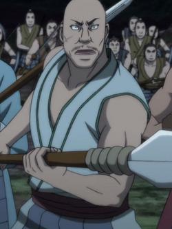 San Ka anime portrait