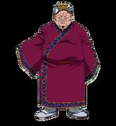 Ketsu Shi Character Design anime S1