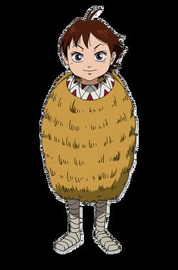 Ka Ryo Ten Character Design anime S1