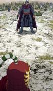 Baku Koshin Confronts Kyuu Gen anime S1