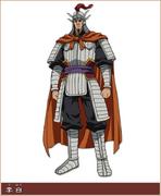 Ri Haku Character Design anime S1