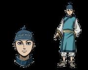 Mou Ki Character Design anime S2