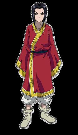 Ei Sei Character Design anime S1