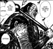 Den Yuu tells shin to kill Kei Sha