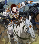 Rin Ko's War Horse anime portrait