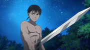 Shin Challenges Kyou Kai Without Realizing That He Is Naked anime S2