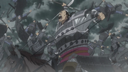 Kai Shi Bou Smashes His Way Through The Qin Army anime S2