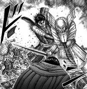 Ban Riku Slain by Shin