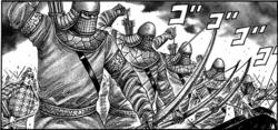 Black archer unit