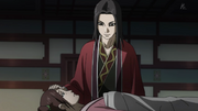 Ei Sei Thanks Kou For Telling Him About Queen Mother And Ryo Fui's Alliance anime S2