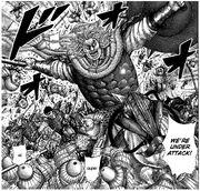 Duke Hyou leads Shin in battle