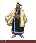 Ryo Fui Character Design anime S1