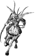 Choukatsu horse