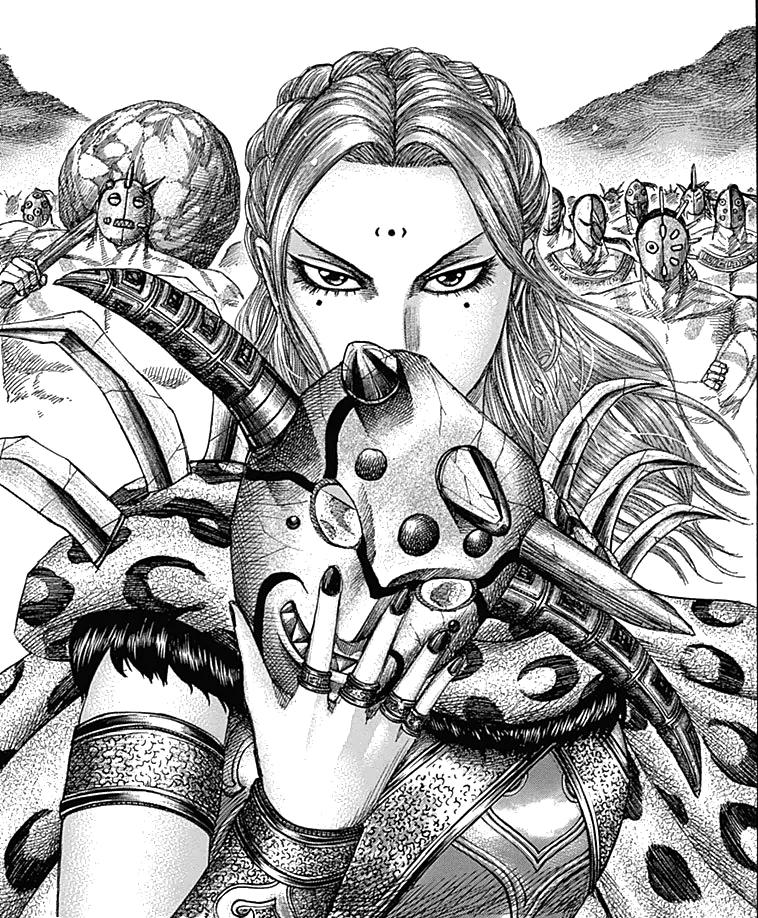 Kingdom Manga Coalition Arc: Image - Yotanwa Army Arriving.png