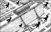 Kourou city under seige