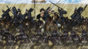 Hi Shin Unit's Surprise Attack Against Ba Kan Unit anime S2
