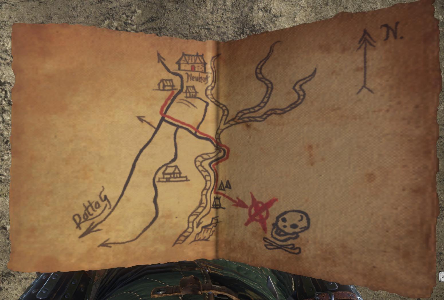 Kingdom Come Deliverance Uralte Karte 2.Uralte Karte I Kingdom Come Deliverance Wiki Fandom Powered By