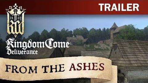 Kingdom Come Deliverance - From The Ashes Trailer DE