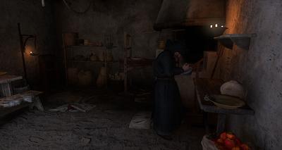 Nicodemus prepares medicine