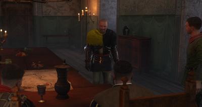 Bernard tells Hanush about Neuhof