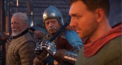 Divish, Bernard and Henry wait for Markvart
