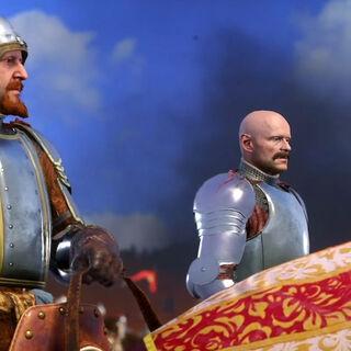 King Sigismund and Markvart von Auliz