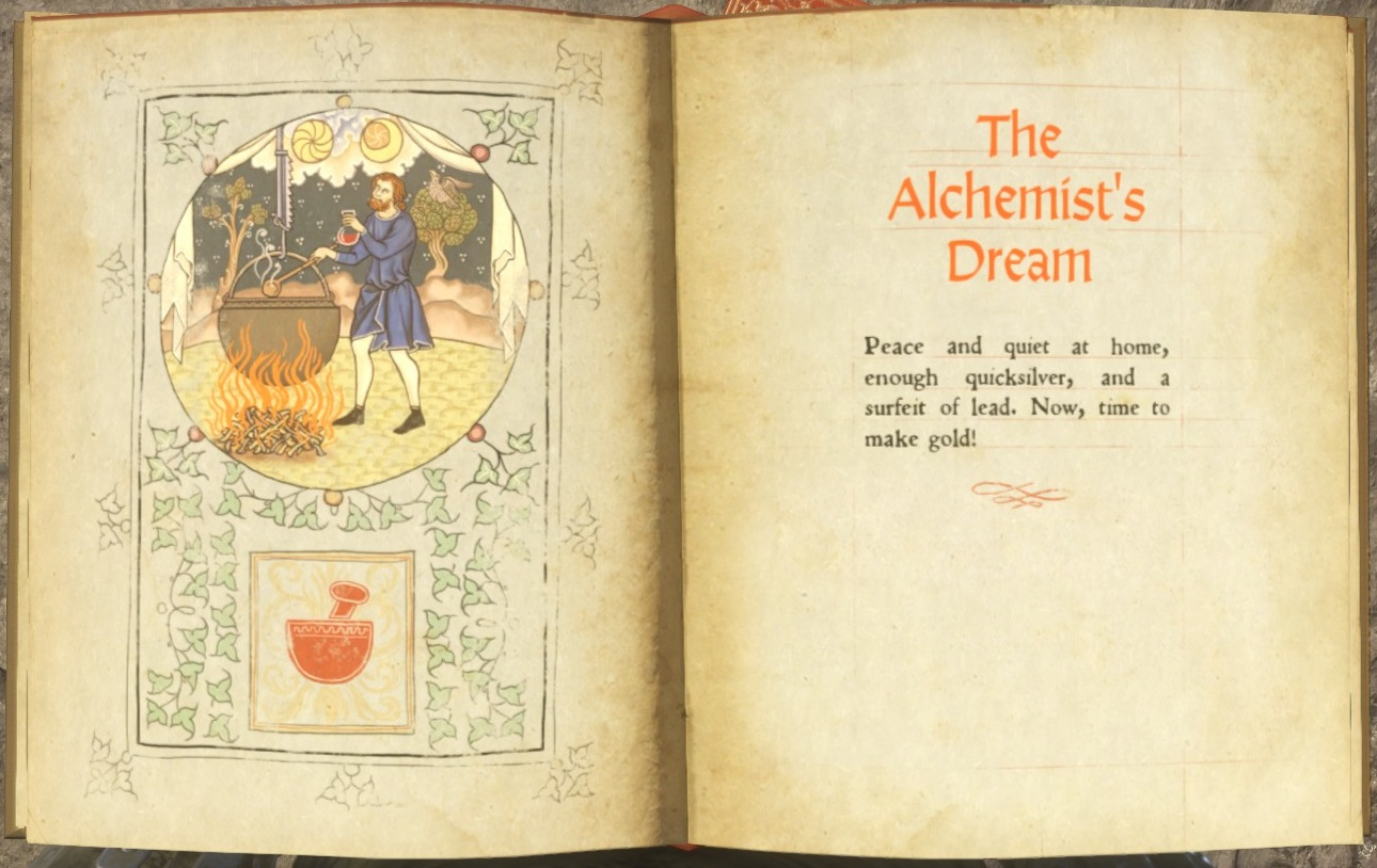 The Alchemist's Dream (book) | Kingdom Come: Deliverance Wiki