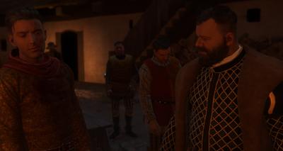 Hanush rages at Hans and Henry