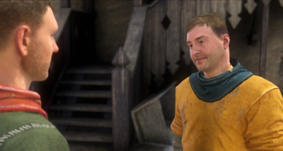Talking to the Stablemaster