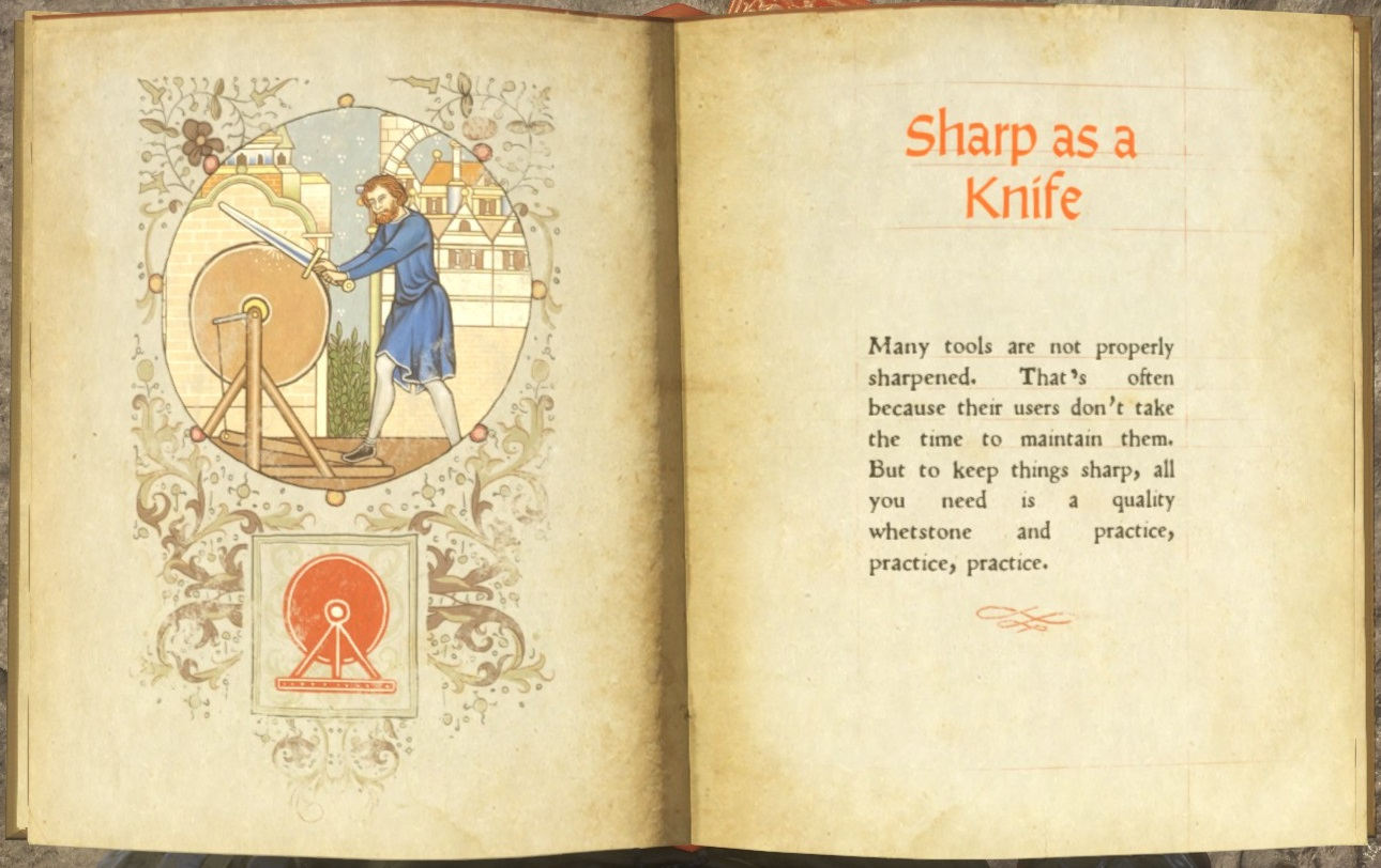 Sharp as a Knife (book) | Kingdom Come: Deliverance Wiki | FANDOM