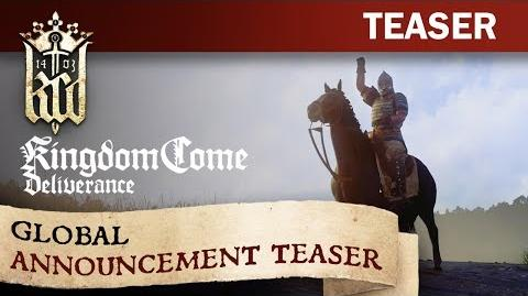 Kingdom Come Deliverance – Global Announcement Teaser