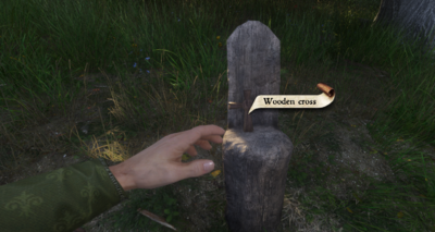 Wooden cross-0