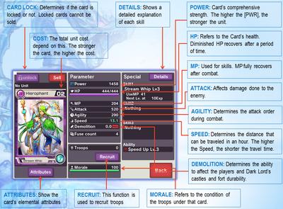 Card Parameters