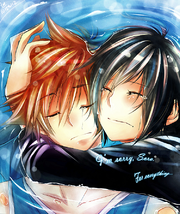 Sora and xion by taka maple-d5iw71o