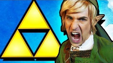 Legend of Zelda Rap MUSIC VIDEO