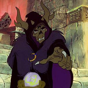 Horned King as Wiseman