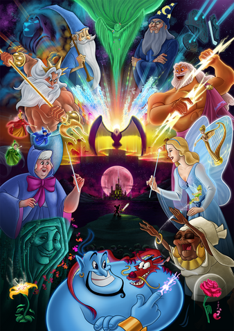 The Alpha Beings and their High Council Descendants by ponsho