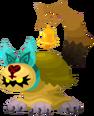 Yellow Cat Heartless KHUX