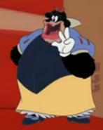 Pete Snow White costume